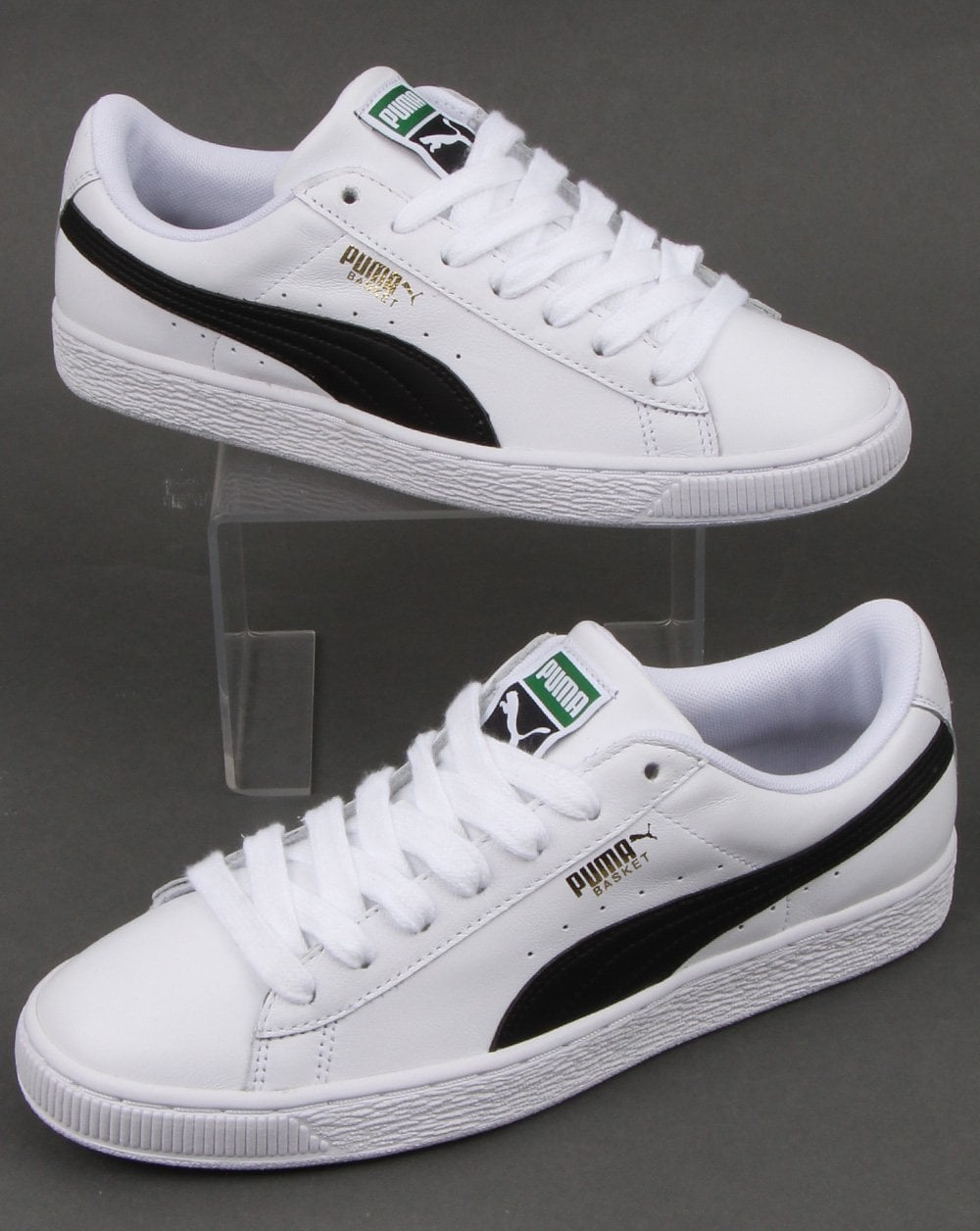 buy popular 8a6d1 0b83a Puma Basket Classic Lfs White/black