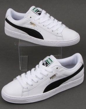 Puma Basket Classic Lfs White black f45d8dd69