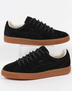 Puma Basket Classic Winterized Trainers Black