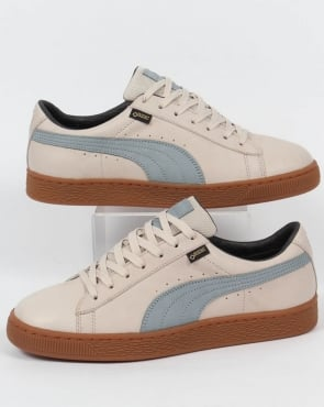 Puma Basket Gortex Trainers Birch/Slate