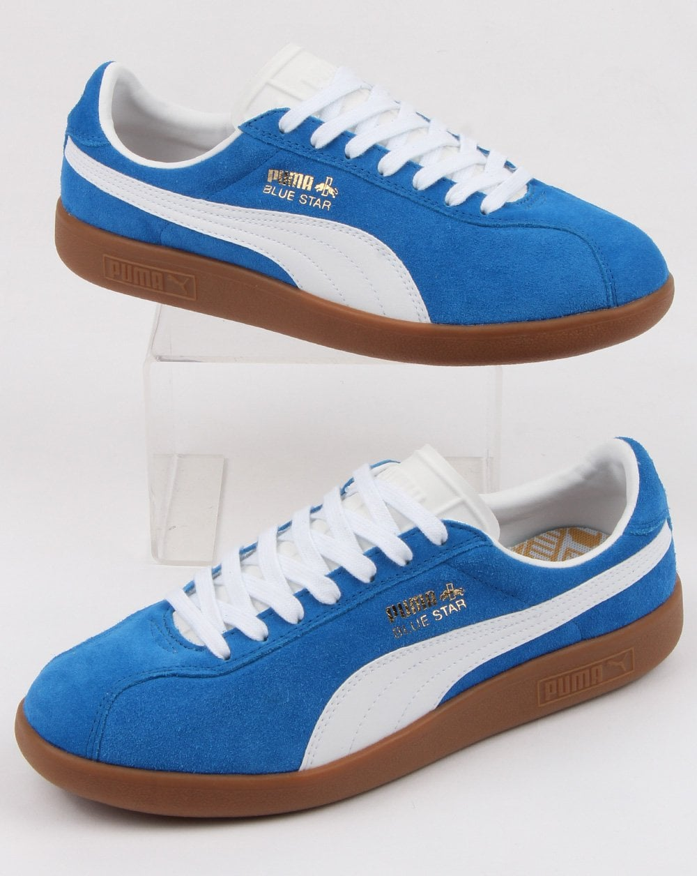 65fd6130a85f30 Puma Puma Blue Star Trainer Royal Blue white