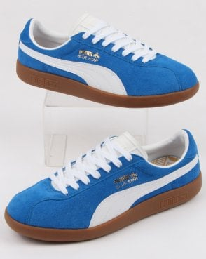 Puma Blue Star Trainer Royal Blue/white