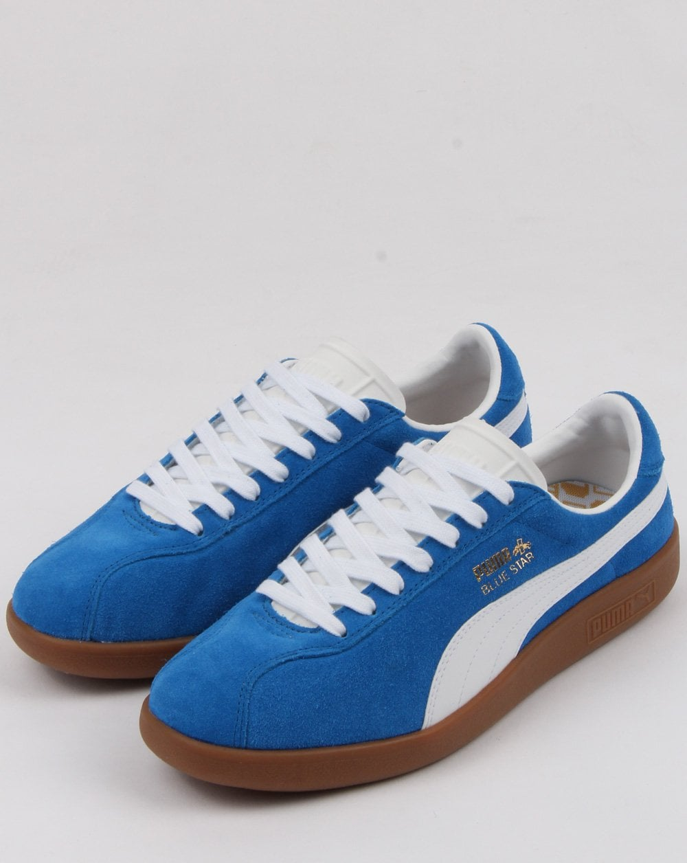 e7a4210c5d48 Puma Blue Star Trainer Royal Blue white