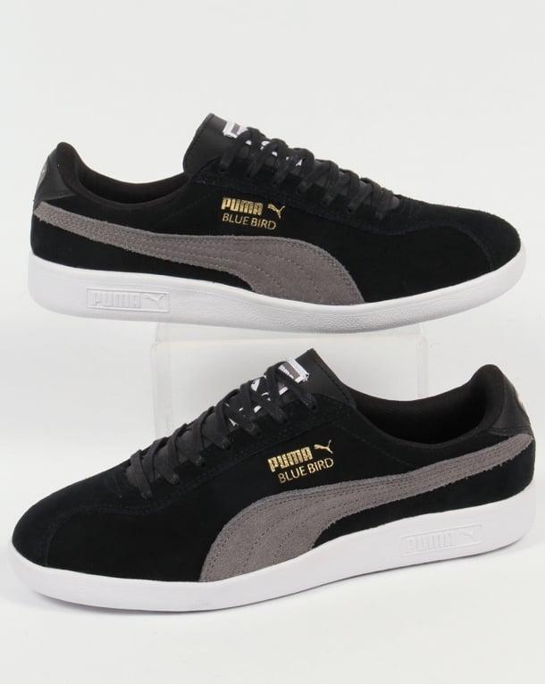 Puma Bluebird Trainers Black/Grey