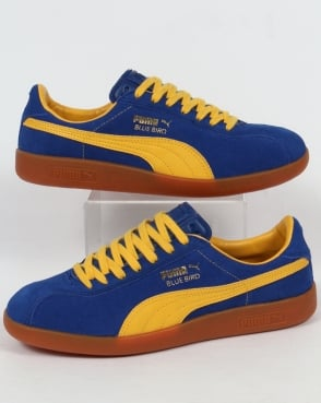 Puma Bluebird Trainers Blue/Yellow