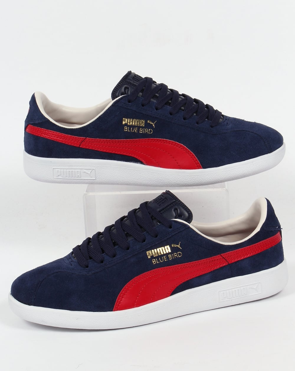 best loved 1f238 6835a Puma Bluebird Trainers Navy/Red