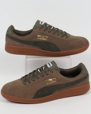 Puma Bluebird Trainers Olive/Forest