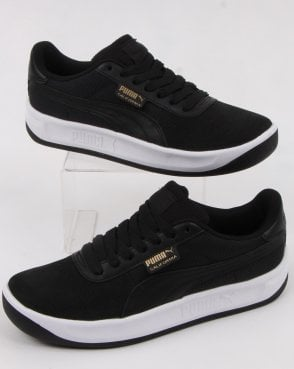 51181b521407 Puma California Trainer Black white