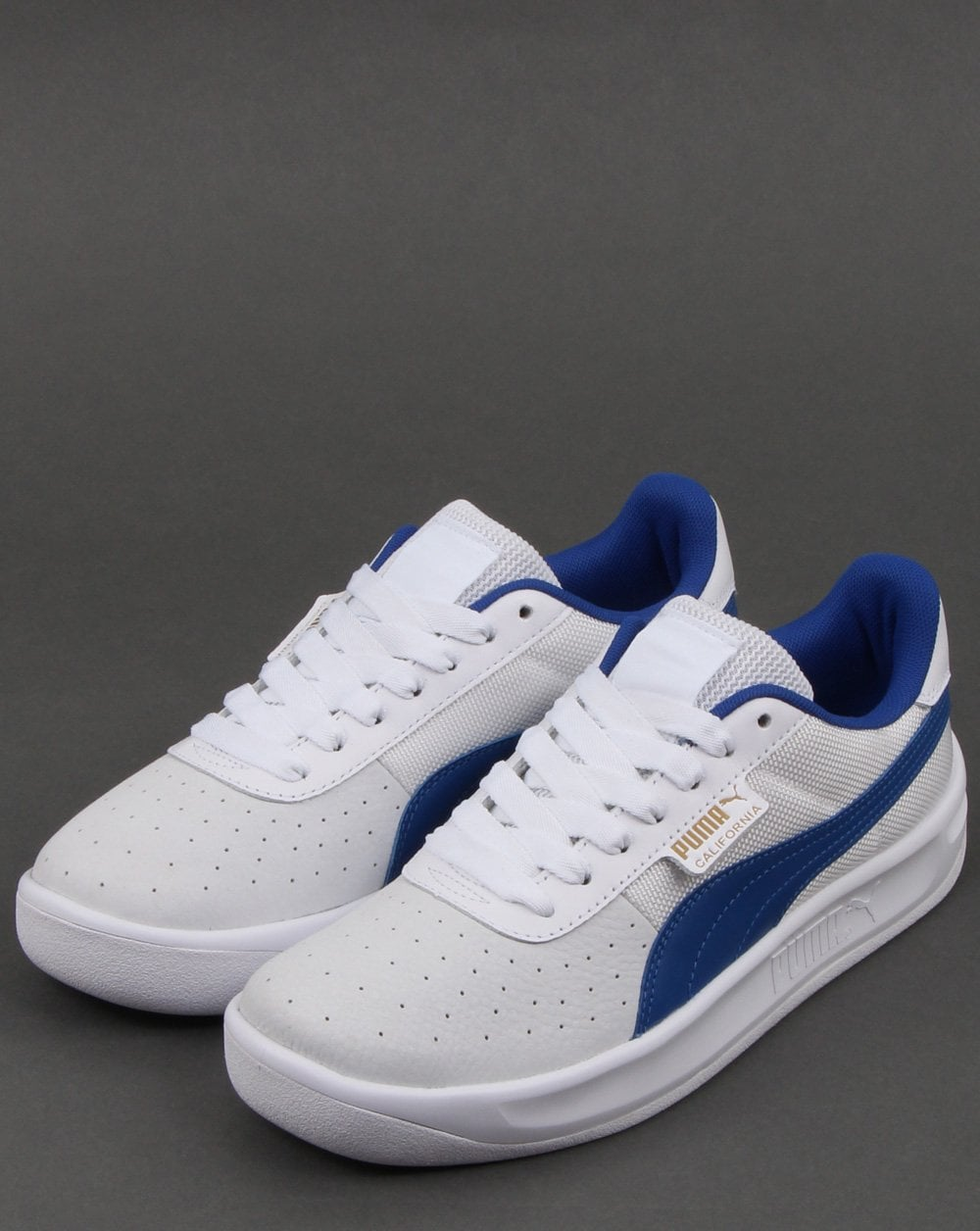 9a9d8afe6dc Puma California Trainer White Blue