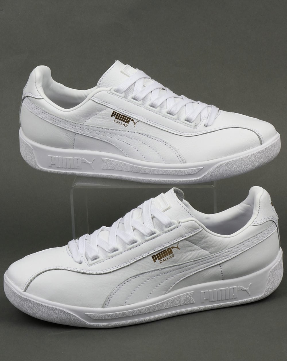 Puma Puma Dallas OG Leather Trainers White a89d30115
