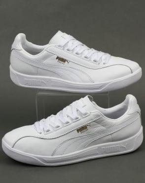 Puma Dallas OG Leather Trainers White