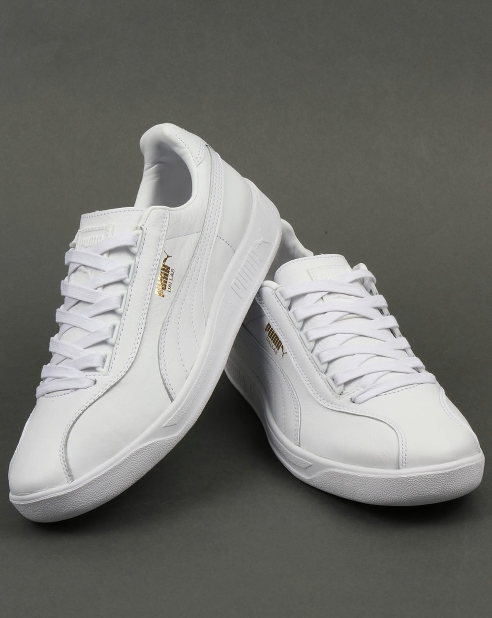 Puma Dallas OG Trainers White,leather,Shoes,Sneakers Caterpillar Shoes