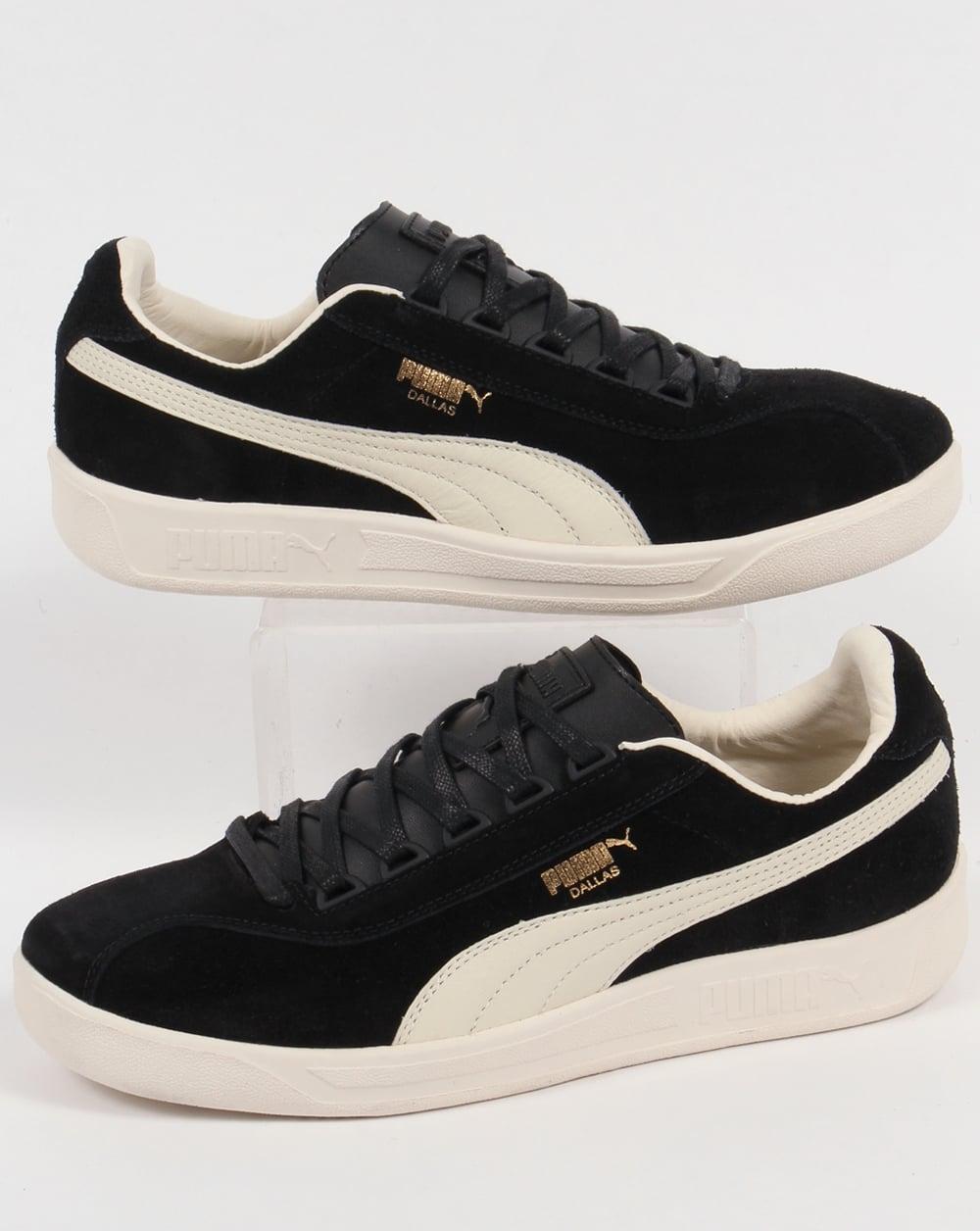 Puma Puma Dallas OG Trainers Black Grey Gold e2beea14c