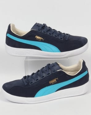 Puma Dallas Trainers Blue Shadow