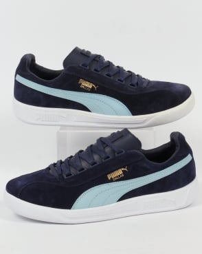 Puma Dallas Trainers Navy/Sky Blue