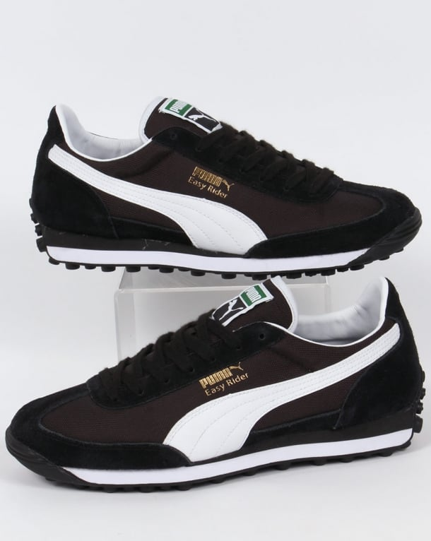 Puma Easy Rider Trainers Black/White