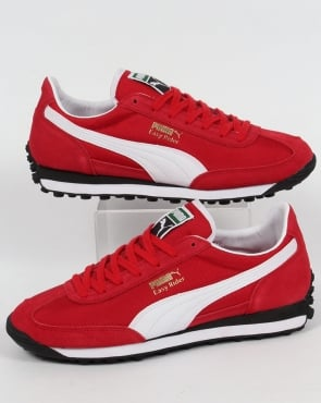 Puma Easy Rider Trainers Cherry/white
