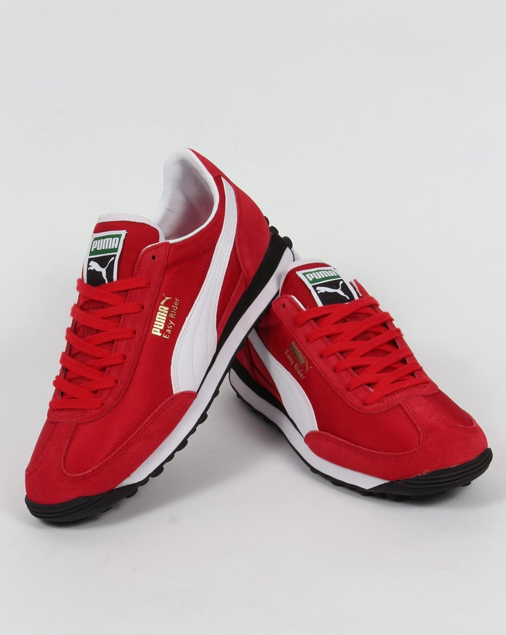 Puma Easy Rider Trainers Red,retro,cherry,classic,mens