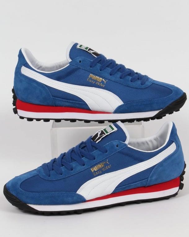 Puma Easy Rider Trainers True Blue/White