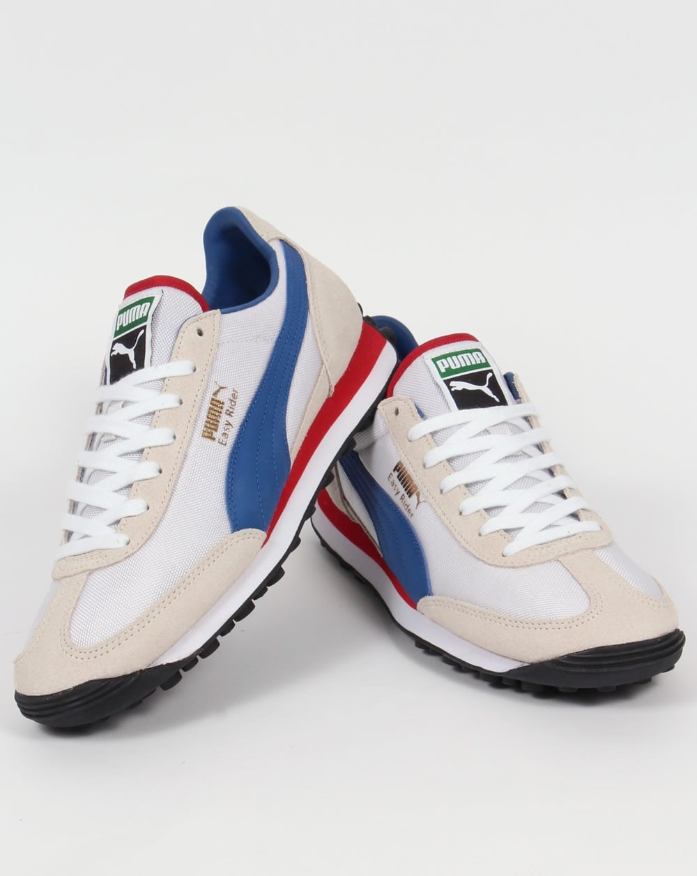 Puma Easy Rider Trainers White/True Blue