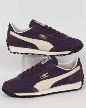 Puma Easy Rider VTG Trainers Grape/White