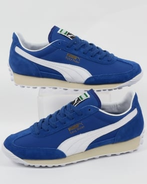 Puma Easy Rider VTG Trainers Royal Blue/White
