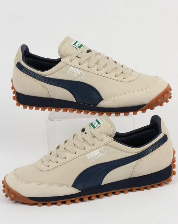 Puma Fast Rider Og Trainers Birch/navy/white