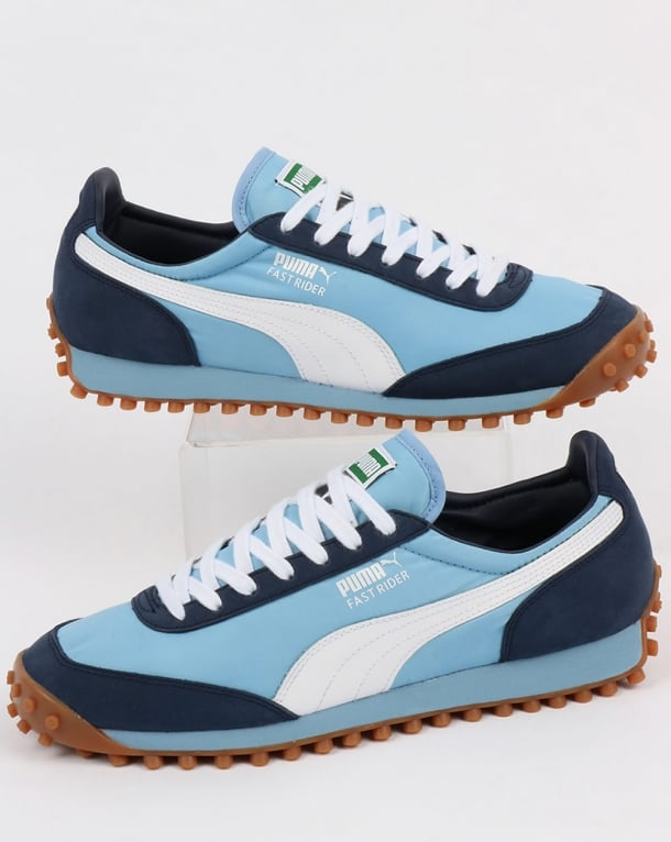 Puma Fast Rider OG Trainers Sky/Navy/White
