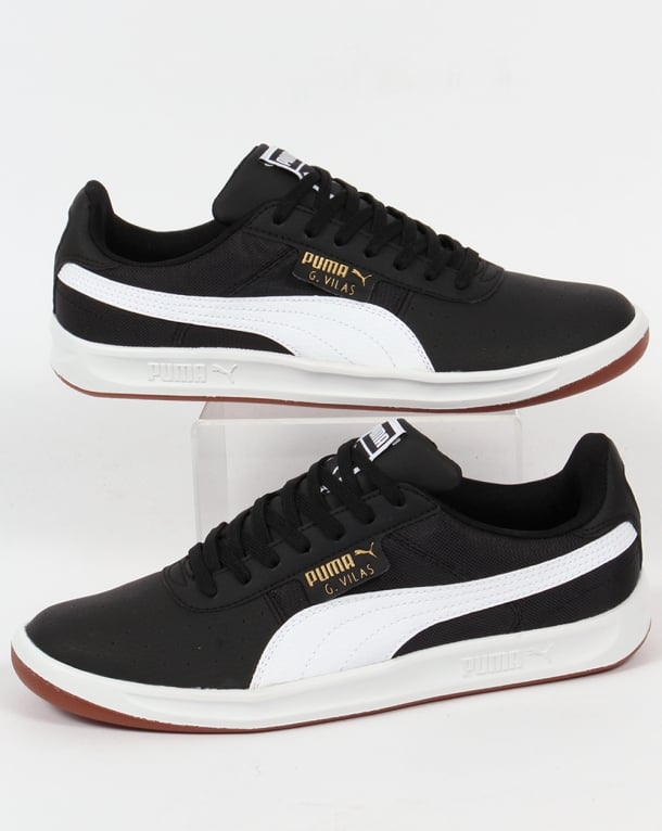 Puma G Vilas 2 Core Trainers Black/White