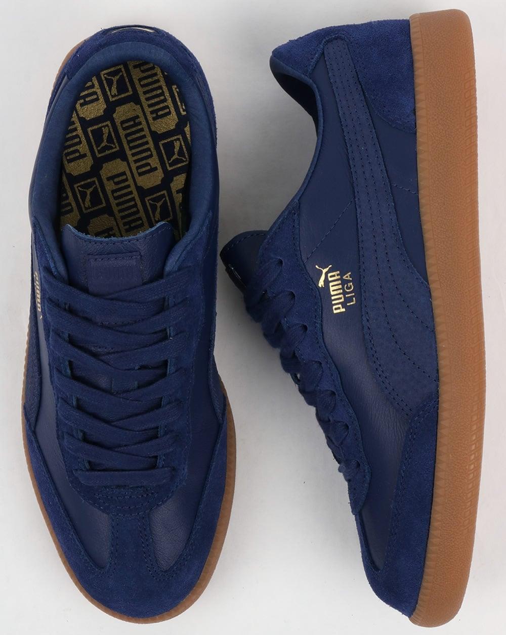 Puma Liga Leather - Blue