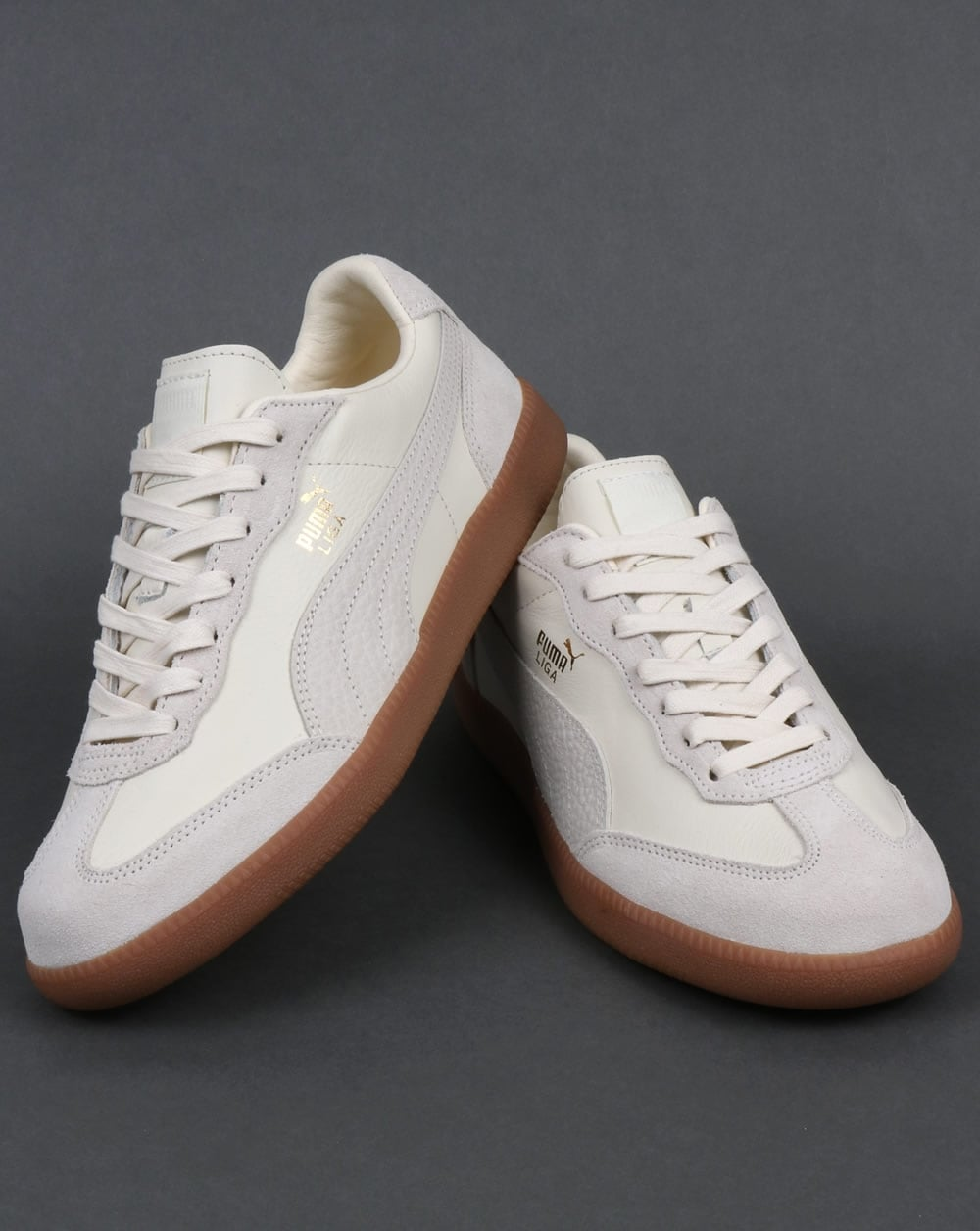 Puma Liga Leather Off White Sneakers