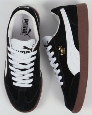 Puma Liga Suede Trainers Black/White