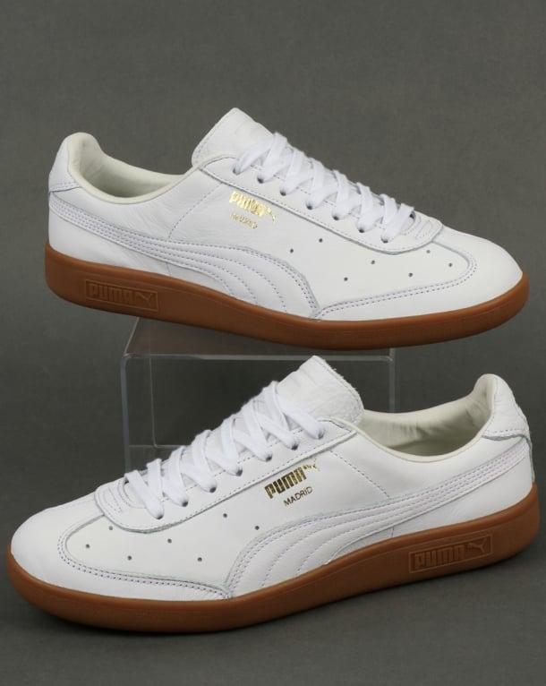 Puma Madrid Premium Trainers White