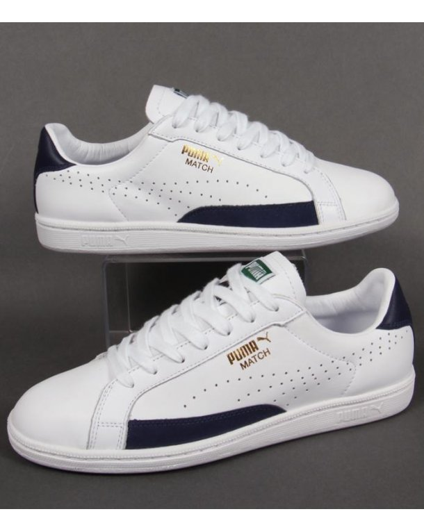 Puma Match 74 Trainers White/navy