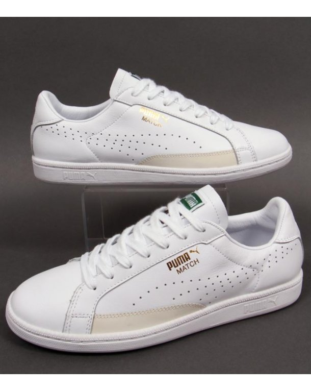 puma match all white