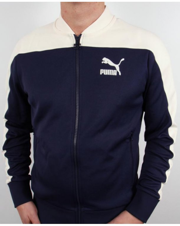 Puma Pierre Track Top Navy/off White