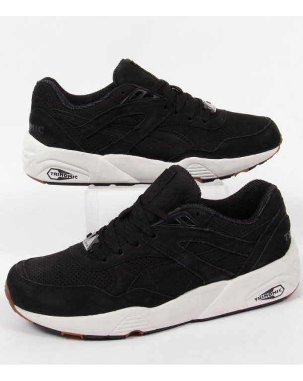 PUMA Trinomic R 698 perf Pack 44.5 Black/White