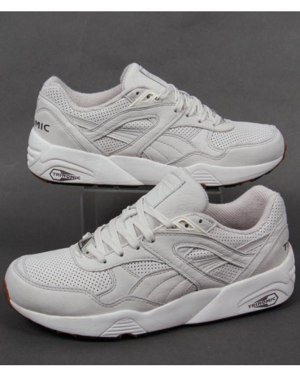 Puma R698 Perf Pack Trainers Vaporous Grey/whisper White