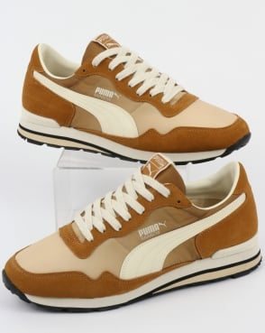 Puma Rainbow Og Trainers Golden Brown/pebble
