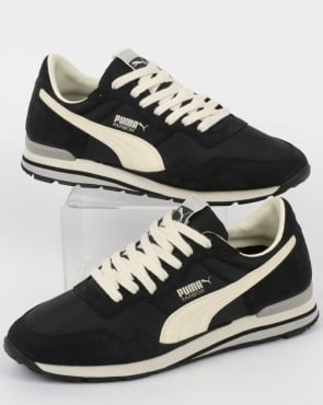 Puma Rainbow SC Trainers Black/Whisper White