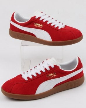 Puma Red Star Trainer Red/white