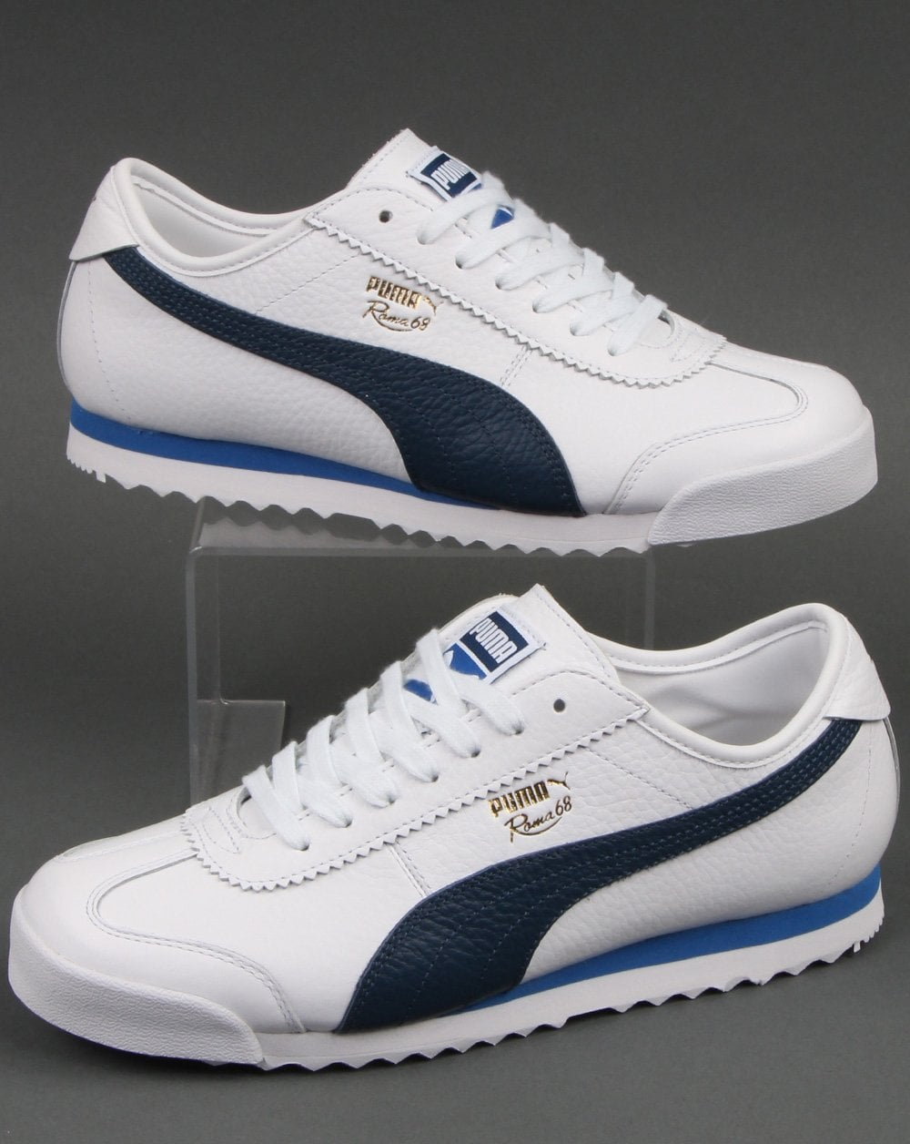 Puma Roma 68 Vintage Trainer White/Dark