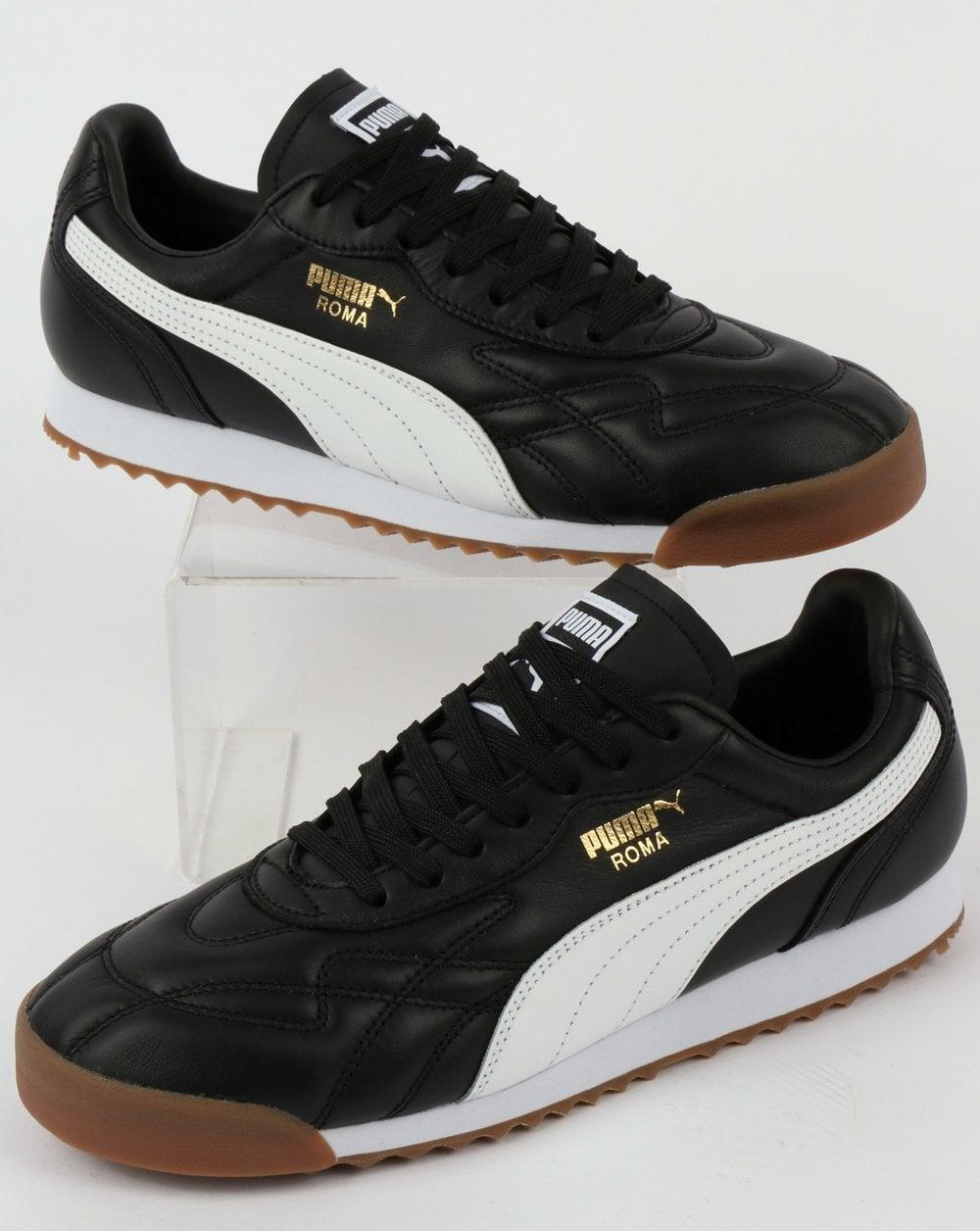 86768555 Puma Roma Anniversario Trainer Black/White