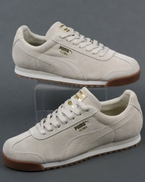 Puma Roma Natural Warmth Trainers Birch/whisper White