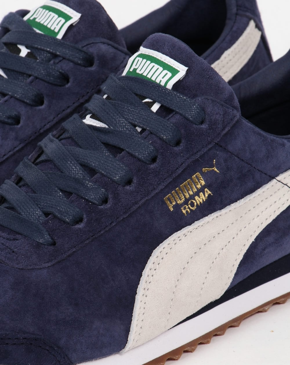 buy online 1680e 168c3 Puma Roma Trainers Navy/White