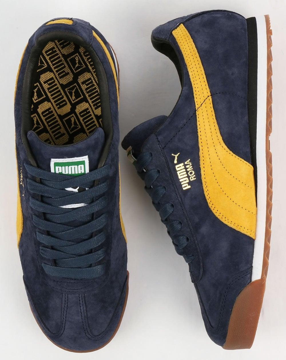 Zapatos Azules Puma Roma H4kCtr
