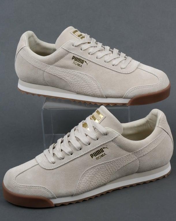 Puma Roma Trainers premium off white