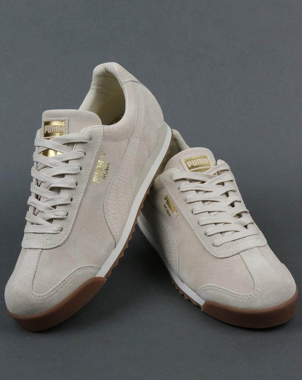 281839c9cc3755 Puma Roma Trainers premium off white