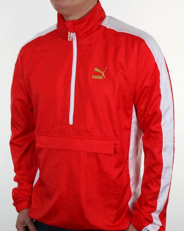 Puma Savannah Bboy Jacket Red/white
