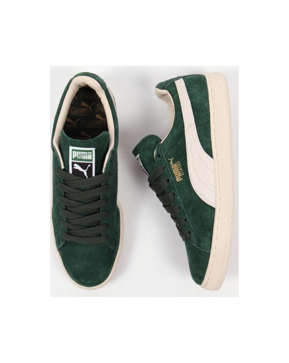 Puma Nm Estados Zapatillas De Gamuza Verde yLSAMkTcWx